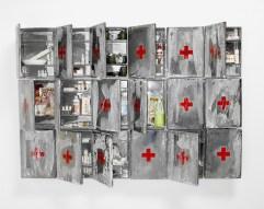 Bertozzi&Casoni Composizione N4, 2003 cm116x174x13