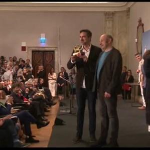Iñaqui Carnicero e Carlos Quintanas ricevono il Leone d'oroI