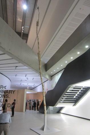 Sisley Xhafa, Dish monument, 2012