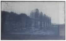 p. 031_ARTEFORTE_Forte Cadine_Paolo Maria Deanesi Gallery_Michele Parisi_IRAE (Palmira)_2015_gelatina fotosensibile- cellulosa e olio su tela_110x170 cm