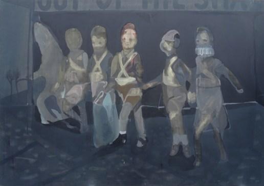 p. 081_ARTEFORTE_Forte superiore di Nago_Boccanera Gallery_Nebojsa Despotovic_Out of the shadow_2009_olio su tela_200x250 cm