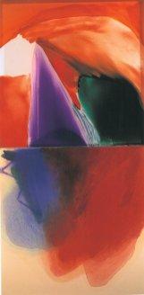 p. 128_ARTEFORTE_Forte Belvedere_Von Morenberg_Italo Bressan_Poema metafisico_2003_olio su tavola e colori su vetro_180x90 cm