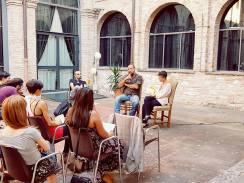 Con Simone Pellegrini e Giovanni Gaggia - Festival A,m,o, MARCHE