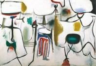 Marca-Relli Conrad, Untitled, 1950 oil on canvas, 98.5 x 140.5 cm.