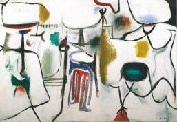 Marca-Relli Conrad, Untitled, 1950 oil on canvas, 98.5 x 140.5 cm.