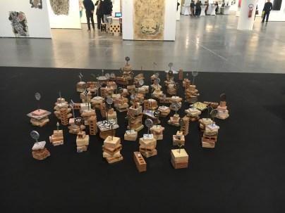 Gabriella Ciancimino, Liberty Flowers, 2016, prometeogallery by Ida Pisani, Lucca/Milano,ArtVerona 2016.