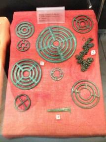 Monili conservati al Museo Dei Brettii e degli Enotri Cosenza