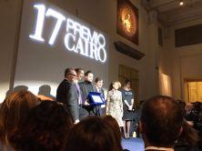 Premio Cairo 2016, la premiazione