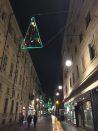 Vasco Are, Vele di Natale, Via Lagrange, Torino Art Week
