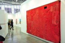Simon Callery - Flat painting bodfari 14/15 Cadmium Reed Deep 2015 - Galleria Annex14 + Fold - Zurich/London