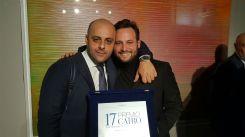 Il Gallerista Nicola Pedana e Paolo Bini