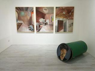 Luca Zarattini, Slalom, Galleria FabulaFineArt, 2016