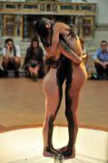 CENTRUM NATURAE, performance G.Gaggia, Mona Lisa Tina, foto di Alessandro Giampaoli (particolare)