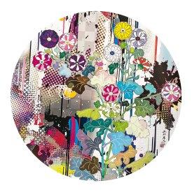 Takashi Murakami, Kansei, abstraction, 2010 Mixed media print 300 °71 cm