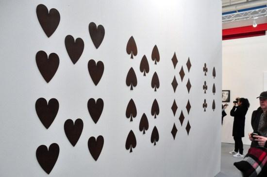 Jan Vercruysse, Paces (1.6), 2005, Galleria Vistamare, Pescara. ArteFiera 2017