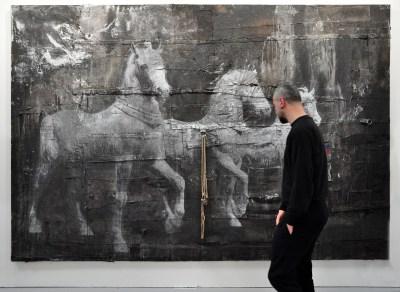 Luca Pignatelli, Galleria Poggiali, Firenze. ArteFiera 2017