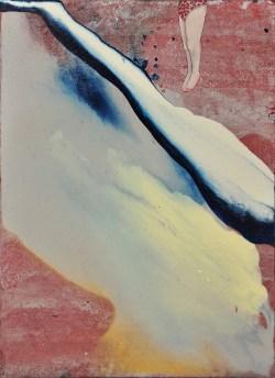 Elisa-Bertaglia-Out-of-the-Blue-2016-olio-e-pastelli-su-cartoncino-23.8x17.3-cm