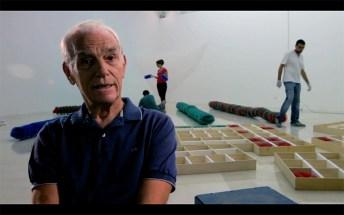 Fabio Sargentini. Fotogramma del documentario