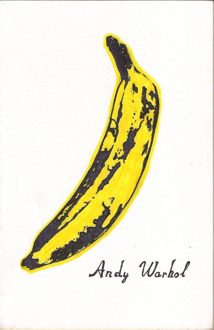 Andy Warhol, Banana, The Velvet Underground & Nico album, 1967