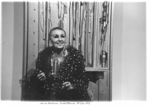 Louise Nevelson 1973, Studio Marconi '65
