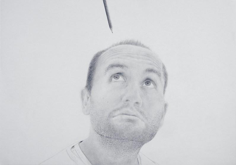 Massimiliano Galliani, Autoritratto, Creazione, Musei Civivi di Reggio Emilia, 2017
