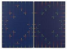 Paolo Minoli, Tempo A e Tempo B, 1988, acrilici su tela, cm. 120x160, foto Dario Lasagni (Copia)