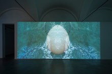 Sarah Ciracì, Like An Ocean With Its Waves..., 2017, video installazione. Foto Roberto Marossi (2)