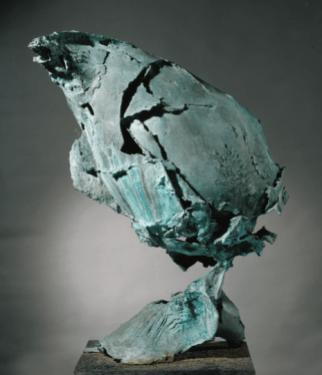Quinto Ghermandi - Senza Titolo 1961 - bronzo - 71 x 54 x 33.5 cm. COURTESY Galleria Open Art, Prato