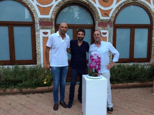 Angelo Maisto, Diakosmesis, Maiori, 9 luglio - 9 agosto 2017, Valerio Falcone, Angelo Maisto, Valerio Dehò