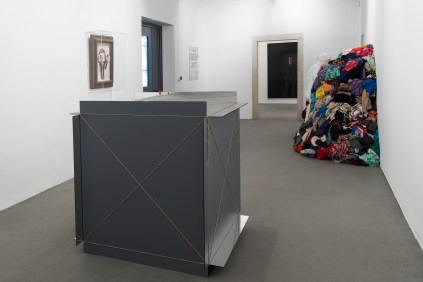 Veduta della mostra, MICHELANGELO PISTOLETTO, One and One makes Three, Evento collaterale della 57. Esposizione Internazionale d'Arte – La Biennale di Venezia, Abbazia di San Giorgio Maggiore e Officina dell'Arte Spirituale, Isola di San Giorgio Maggiore, Venezia, 2017 View of the exhibition, MICHELANGELO PISTOLETTO, One and One makes Three, Collateral Event of the 57th International Art Exhibition – La Biennale di Venezia, Abbazia di San Giorgio Maggiore and Officina dell'Arte Spirituale, Isola di San Giorgio Maggiore, Venezia, 2017 Courtesy: Cittadellarte – Fondazione Pistoletto and GALLERIA CONTINUA, San Gimignano / Beijing / Les Moulins / Habana Photo by: Oak Taylor-Smith