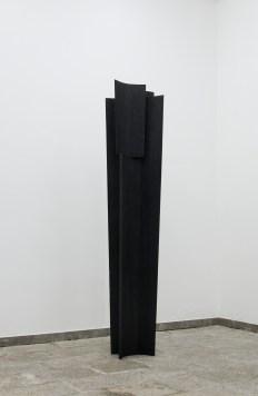 NUNZIO, Untitled, 2017, Legno combusto_220x60x25cm