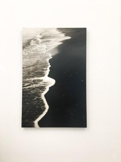 Frani, La via Lattea, olio su tavola laccata, 2017