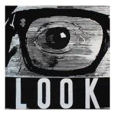 Bologna - Artefiera, Galleria Verolino, Modena Joe Tilson - Look - arazzo tessuto a mano in lana e seta - n° 1 di 3 -firmato - 2016 - cm 255x255 - Ateliers Pinton (Francia)