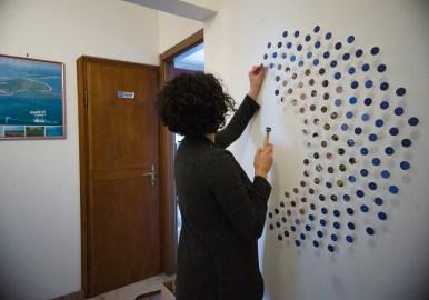 Micaela Lattanzio, RAID, Hotel Caselle, Bologna 2017. Photo Geraldina Bellipario