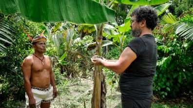 TARSHITO con il curandero RITER MURAYARI YOIMACHI della comunità BORAS di San Cirillo - PERU'