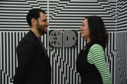 Vincenzo Marsiglia, Optical Room, Vincenzo Marsiglia e Marcella Russo, Summeat Festival Pescara, Aurum 21>24 aprile 2018, Sponsor Metamer, Vincenzo Marsiglia e Marcella Russo, Photo Roberto Sala