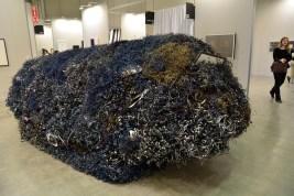 Eliseo Mattiacci, Corpo celeste (Meteorite), 2008 - Galleria Poggiali, Firenze, Milano, Pietrasanta