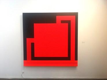 Peter Halley, Galleria Mazzoli Berlino:Londra