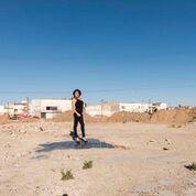 """Teresa Margolles, Pista de baile de la discoteca , La Madelón (Pista da ballo della discoteca """"La Madelón""""),2016_Stampa su carta cotone, 125x185 cm, con cornice_Courtesy dell'artista"""