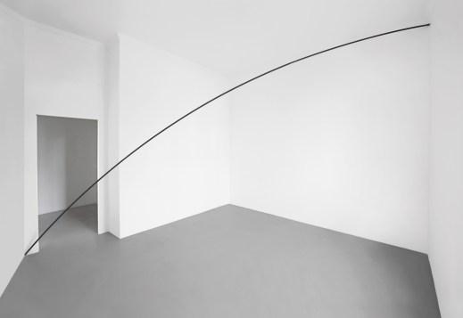L'Occhio Filosofico. A arte Invernizzi, Milano, 2018. Mauro Staccioli - © A arte Invernizzi, Milano. Foto Bruno Bani, Milano