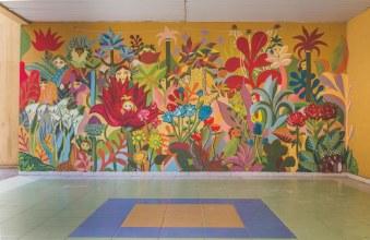 Menukhov Murales scuola Simone Neri