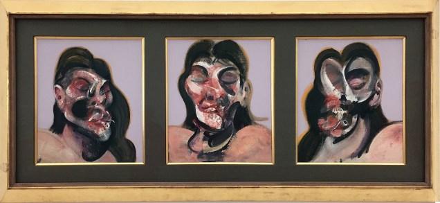 Francis Bacon, Bacon – Giacometti, Fondation Beyeler, Basilea 2018, ph Roberto Sala