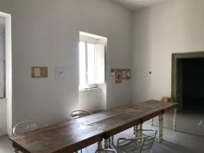 12-X[ics], exhibition view, la mostra trasferita nella casa diventa mostra permanente, 2018,courtesy Roccagloriosaresidenzadartista