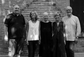 Famiglia Cattelani, Fabio, Annalisa, Afra, Laura e Tiberio Cattelani. Foto Barbara Giorgis