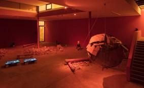 Dineo Sheshee Bopape, Installation view (detail), 10. Berlin Biennale, KW Institute for Contemporary Art, Berlini