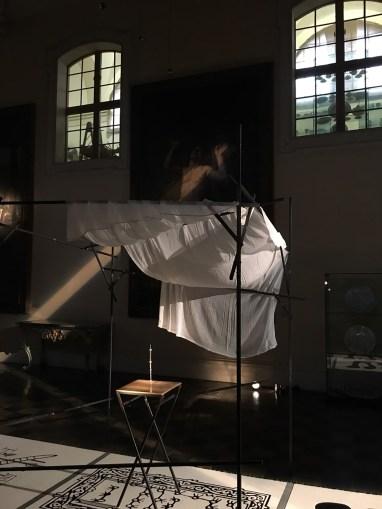 Roberto Paci Dalò, SHUL, installazione, 2018. Piancoteca Civica di Forlì, Palazzo del Merenda. Photo courtesy l'artista