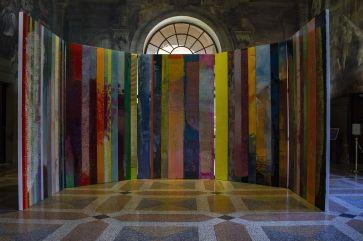 Massimo Kaufmann-installation-view, Sala Farnese, Palazzo d'Accursio, Bologna 2019, ph Veronika Lytvynova.