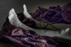 bella addormentata detail piedi