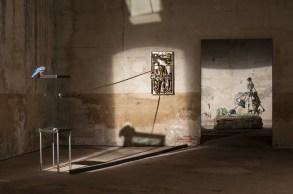 Bertozzi&Casoni veduta della mostra, Chiesa di San Matteo_DSC1900