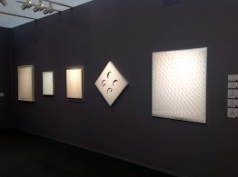 Castellani 1981- Scheggi 1965 - Fontana 1965 - Manzoni 1961 and Manzoni 1959 at Robilant + Voena Gallery London Milan